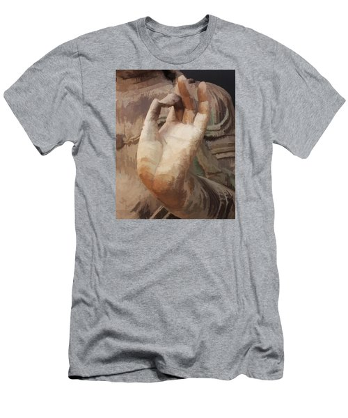 Hand Of Buddha C2014 Men's T-Shirt (Athletic Fit)