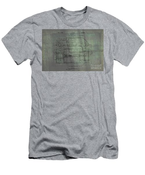 Harleigh Holmes Original Automobile Patent  Men's T-Shirt (Athletic Fit)