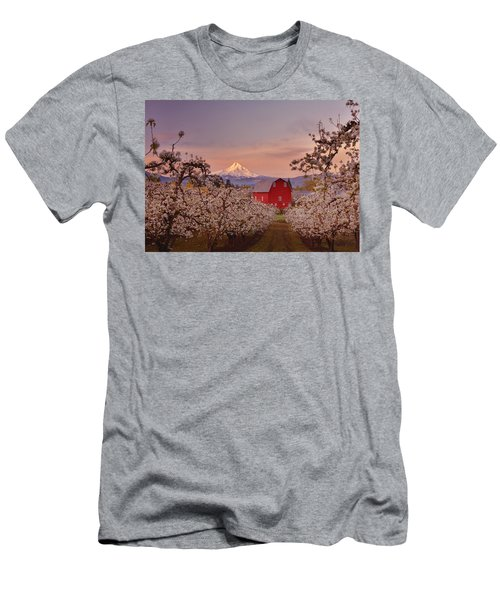 Hood River Sunrise Men's T-Shirt (Athletic Fit)