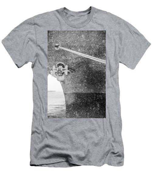 Interpid Under Snowfall Men's T-Shirt (Athletic Fit)