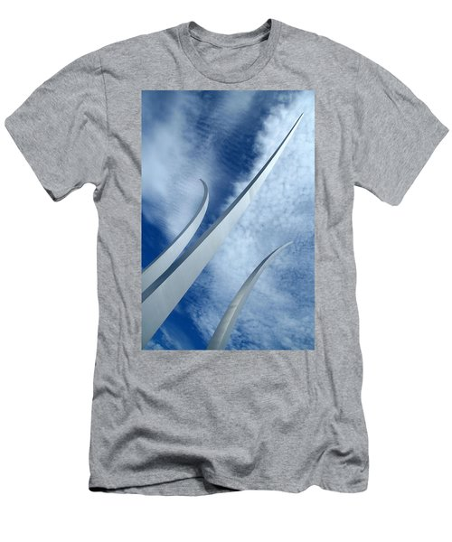 Men's T-Shirt (Slim Fit) featuring the photograph Into The Clouds by Cora Wandel