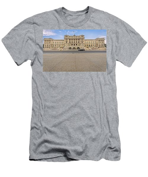 Men's T-Shirt (Slim Fit) featuring the photograph Library Of Congress by Peter Lakomy