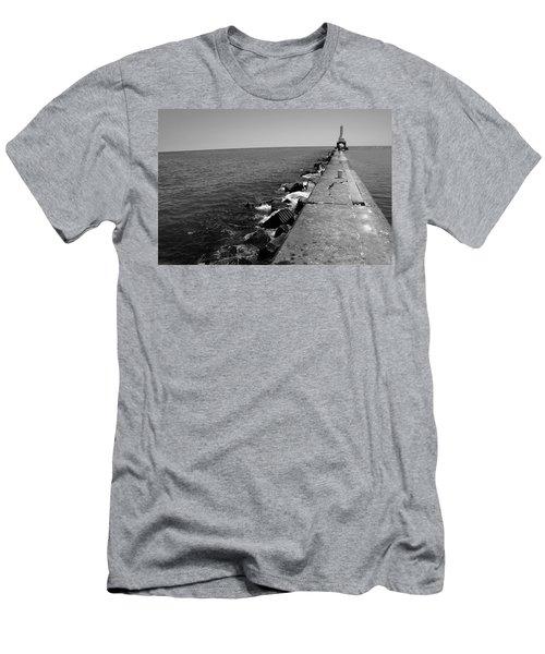Long Thought Men's T-Shirt (Slim Fit) by Jamie Lynn