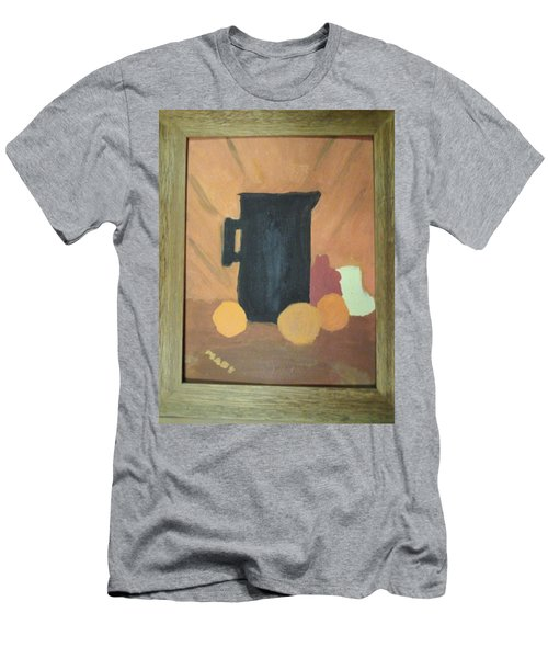 Men's T-Shirt (Slim Fit) featuring the painting #1 by Mary Ellen Anderson