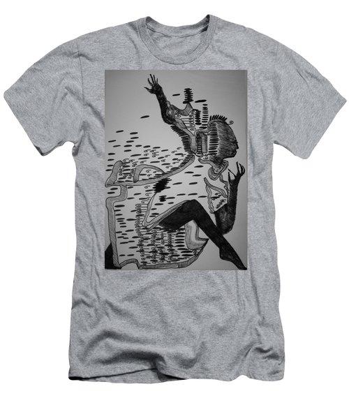 Mbakumba Dance - Zimbabwe Men's T-Shirt (Athletic Fit)
