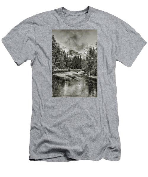 Ascending Clouds Toned Men's T-Shirt (Athletic Fit)