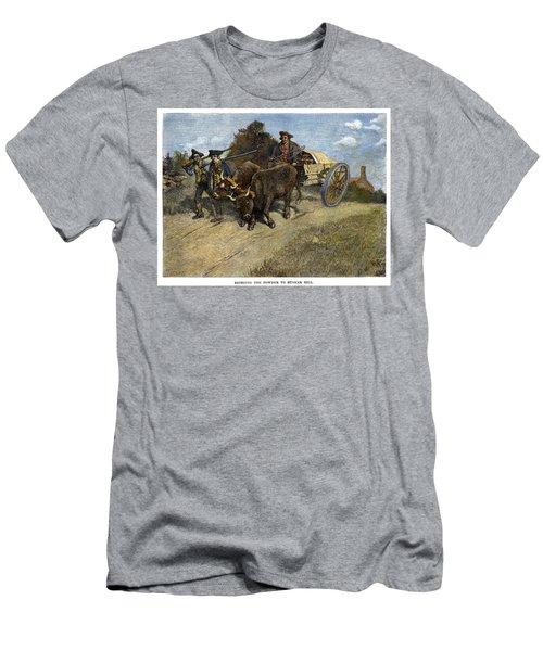New Hampshire Minutemen Men's T-Shirt (Athletic Fit)