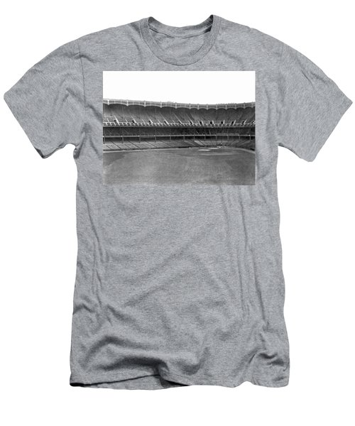 New Yankee Stadium Men's T-Shirt (Slim Fit) by Underwood Archives