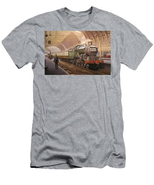 Paddington Arrival. Men's T-Shirt (Athletic Fit)