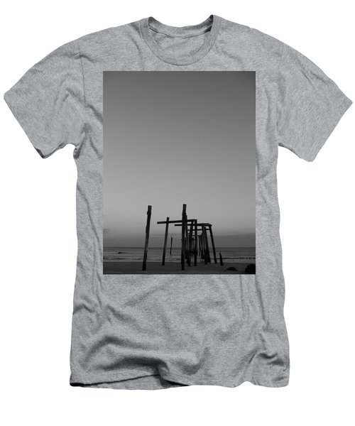 Pier Portrait Men's T-Shirt (Athletic Fit)