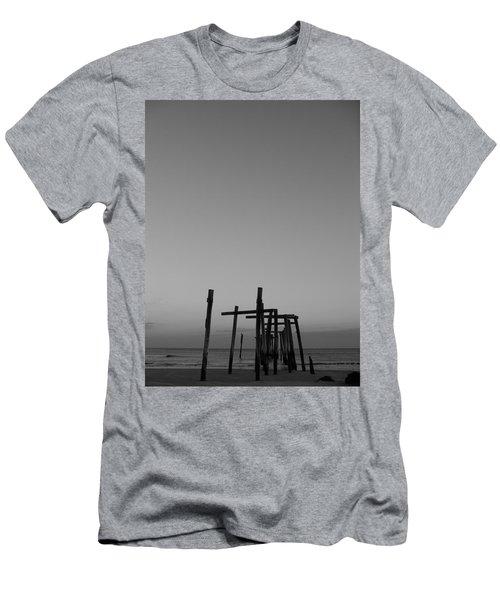 Pier Portrait Men's T-Shirt (Athletic Fit)