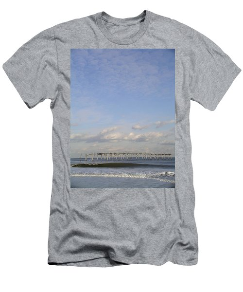 Pier Wave Men's T-Shirt (Athletic Fit)
