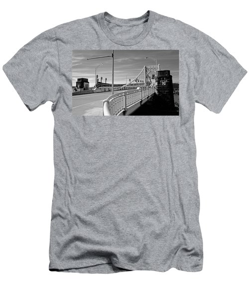 Pittsburgh - Roberto Clemente Bridge Men's T-Shirt (Athletic Fit)