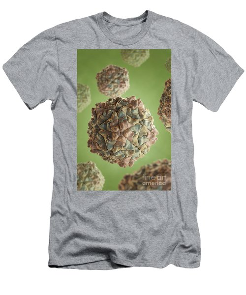 Rice Yellow Mottle Virus Men's T-Shirt (Athletic Fit)