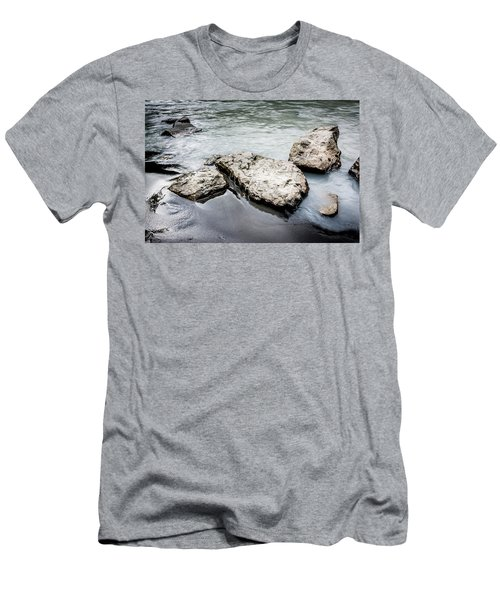 Rocks In The River Men's T-Shirt (Athletic Fit)
