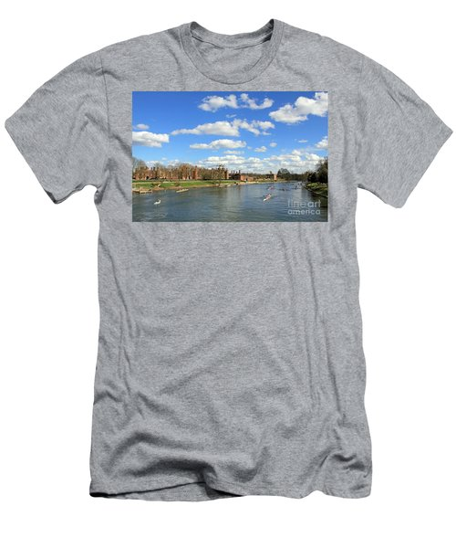 Rowing On The Thames At Hampton Court Men's T-Shirt (Athletic Fit)