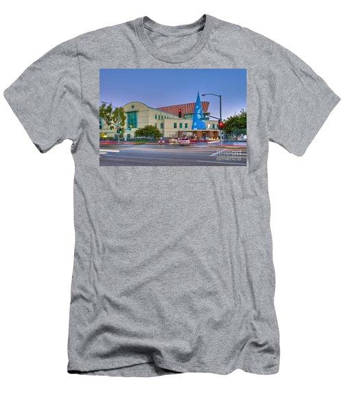 Roy E. Disney Animation Building In Burbank Ca. Men's T-Shirt (Athletic Fit)