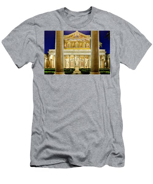 San Paolo Fuori Le Mura Men's T-Shirt (Athletic Fit)