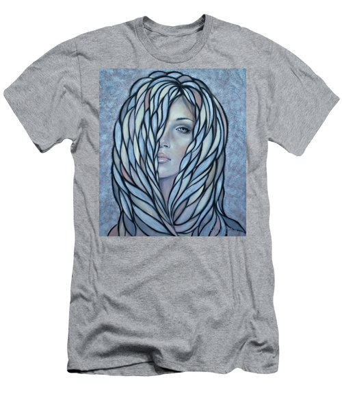 Silver Nymph 021109 Men's T-Shirt (Athletic Fit)