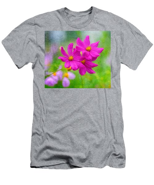 Men's T-Shirt (Athletic Fit) featuring the photograph Summer Garden by Garvin Hunter