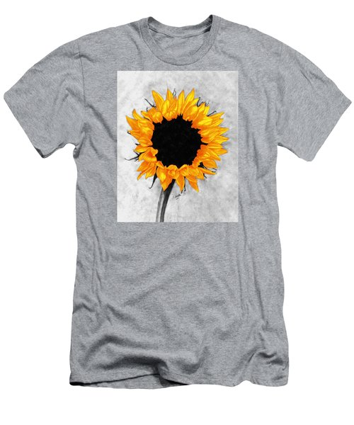 Men's T-Shirt (Slim Fit) featuring the photograph Sun Fire 2 by I'ina Van Lawick