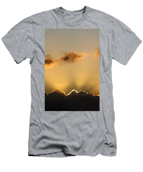 Sun Rays And Dark Clouds Men's T-Shirt (Athletic Fit)