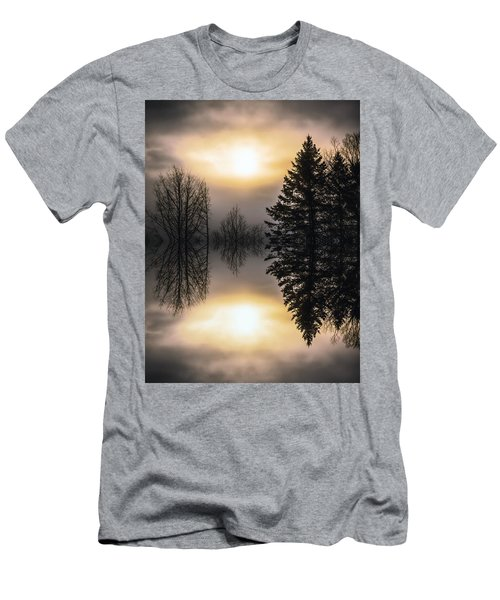 Sunrise-sundown Men's T-Shirt (Athletic Fit)