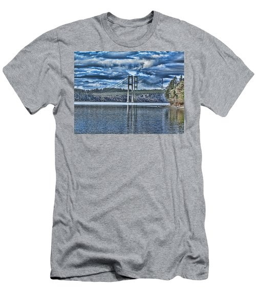 Tacoma Narrows Bridge Men's T-Shirt (Athletic Fit)