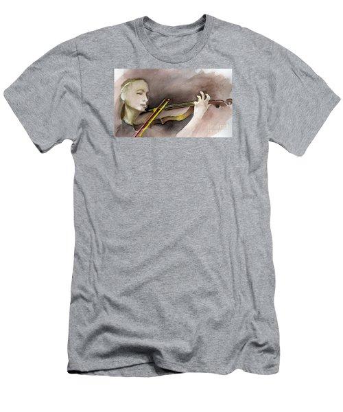 The Violin Men's T-Shirt (Slim Fit)