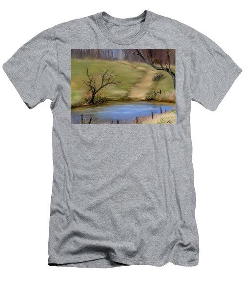 The Pond  Men's T-Shirt (Athletic Fit)