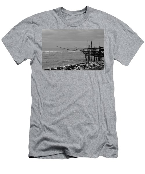 Trabocco On The Coast Of Italy  Men's T-Shirt (Athletic Fit)
