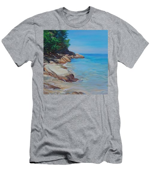 Treasure Beach Men's T-Shirt (Athletic Fit)
