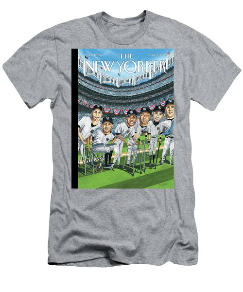 New Yorker April 8th, 2013 Men's T-Shirt (Athletic Fit)