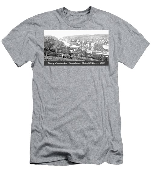 View Of Conshohocken Pennsylvania C 1900 Men's T-Shirt (Athletic Fit)