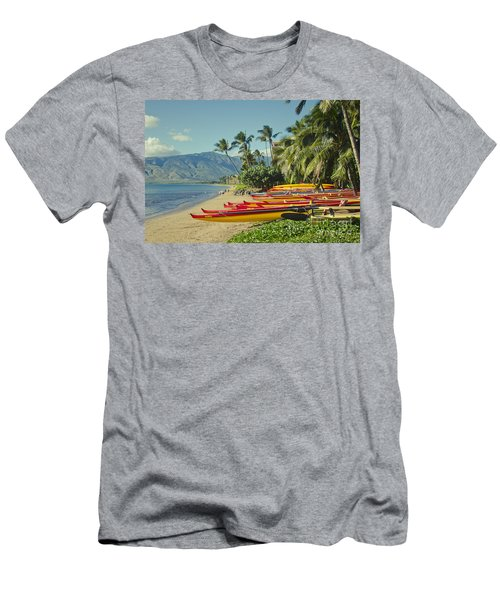 Kenolio Beach Sugar Beach Kihei Maui Hawaii  Men's T-Shirt (Athletic Fit)