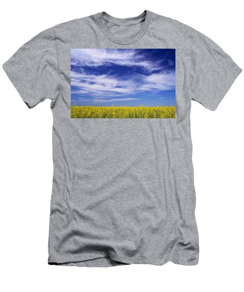 Where Land Meets Sky Men's T-Shirt (Slim Fit) by Keith Armstrong