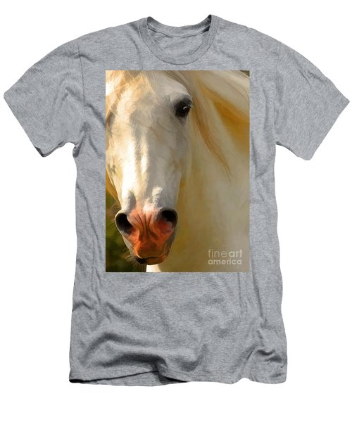 Men's T-Shirt (Athletic Fit) featuring the photograph Wild And Free by Melinda Hughes-Berland