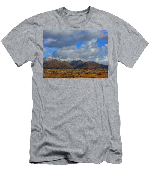 Winter In Golden Valley Men's T-Shirt (Athletic Fit)