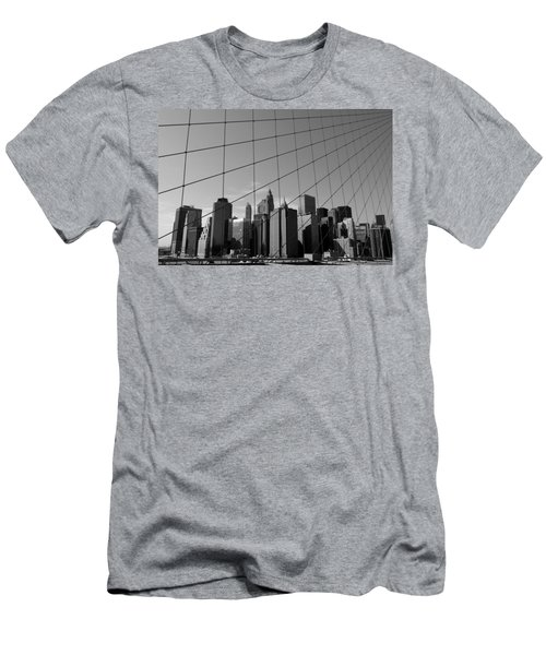 Wired City Men's T-Shirt (Athletic Fit)