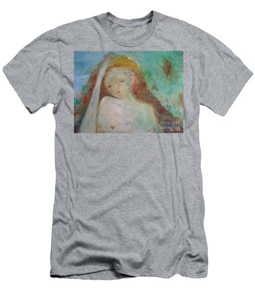 Woman Of Sorrows Men's T-Shirt (Slim Fit) by Laurie L