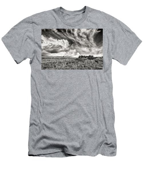 Written In The Wind Men's T-Shirt (Slim Fit) by William Beuther