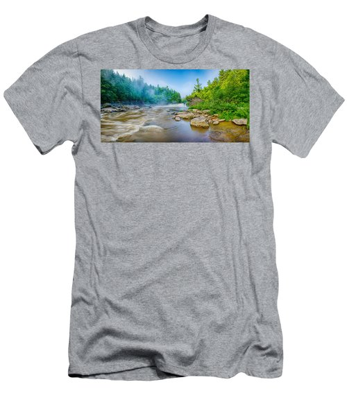 Youghiogheny River A Wild And Scenic Men's T-Shirt (Athletic Fit)