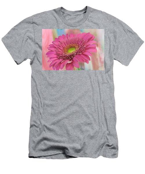 Gerbera Daisy Macro Men's T-Shirt (Athletic Fit)