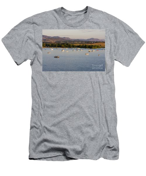Rocky Mountain Balloon Festival Men's T-Shirt (Athletic Fit)