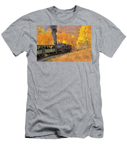 Cass Scenic Railroad Men's T-Shirt (Athletic Fit)