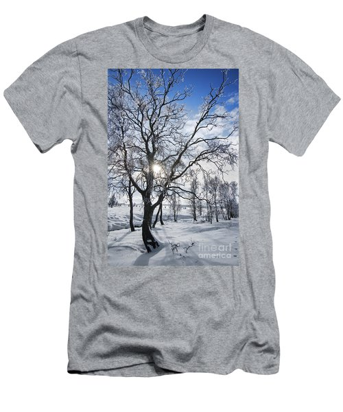 Men's T-Shirt (Slim Fit) featuring the photograph 130201p341 by Arterra Picture Library