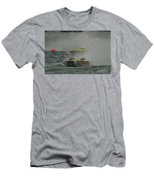 Port Huron Sarnia International Offshore Powerboat Race Men's T-Shirt (Athletic Fit)