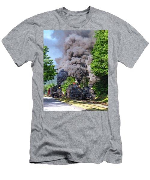 Cass Scenic Railroad Men's T-Shirt (Athletic Fit)