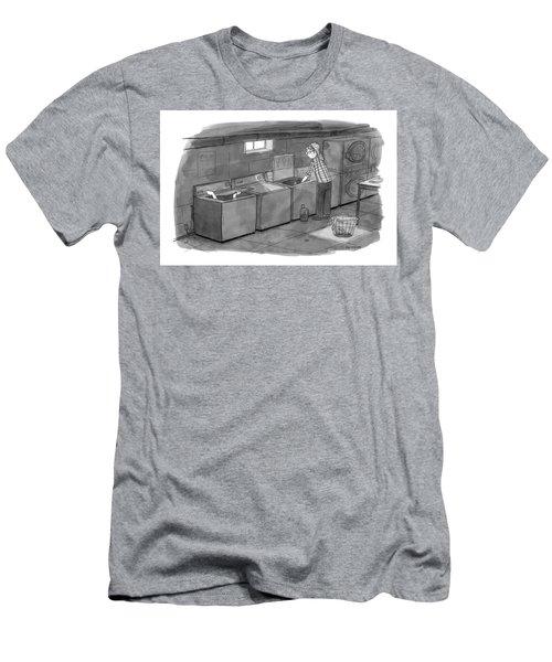 New Yorker September 28th, 2009 Men's T-Shirt (Athletic Fit)