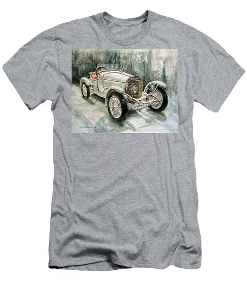 1923 Mercedes Ps Sport- Zweisitzer Men's T-Shirt (Slim Fit) by Joey Agbayani